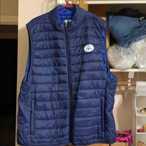 Saddlebred men's puffy vest new never worn